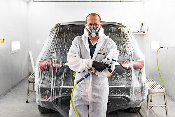 Auto repair shop painter