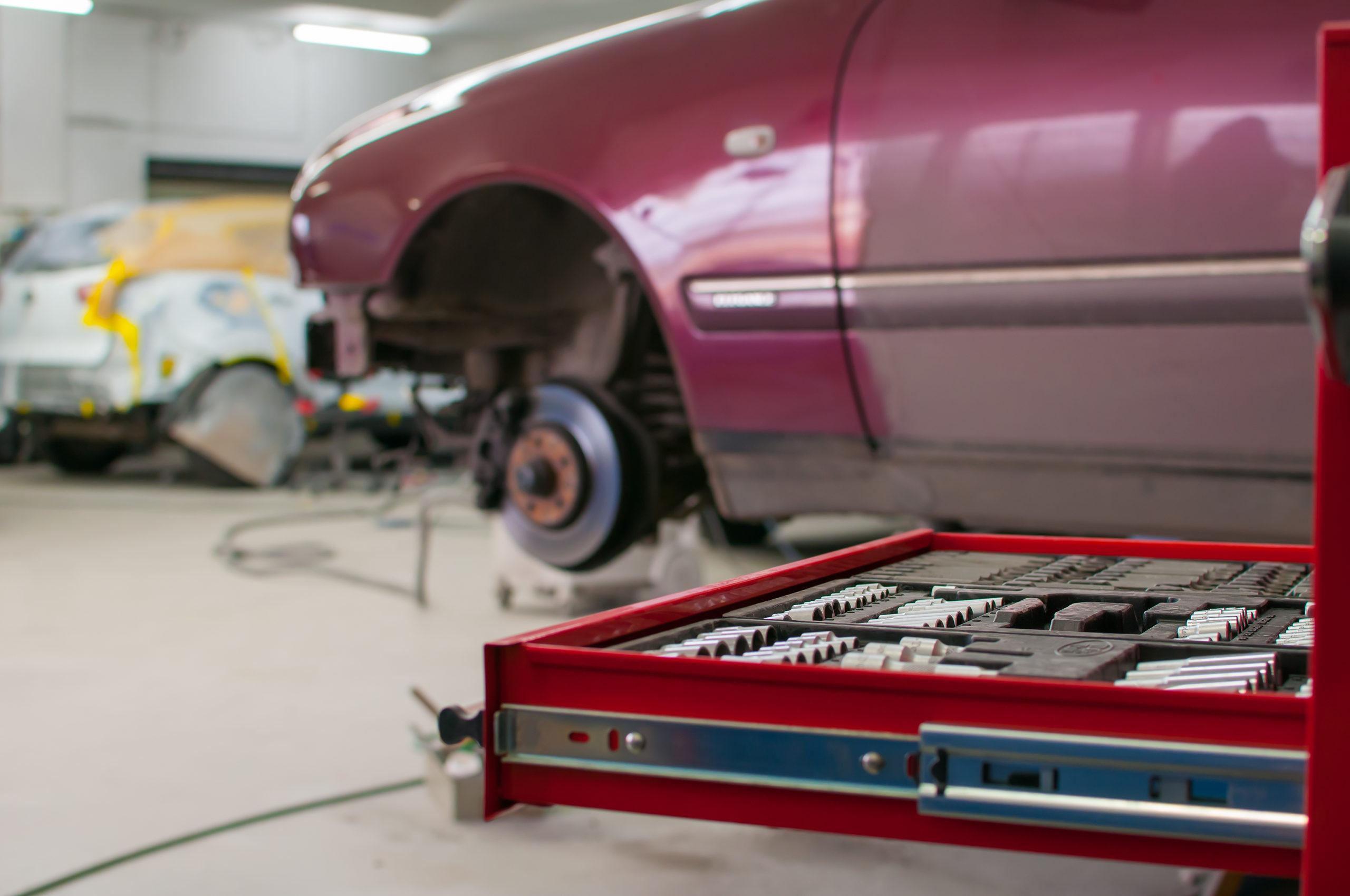 Collision repair information